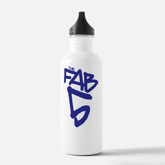 3-fab5back Sports Water Bottle