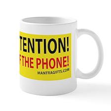 PAYATTENTION_PHONE_CAFE Mug