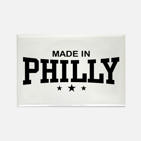 Made in Philly Rectangle Magnet