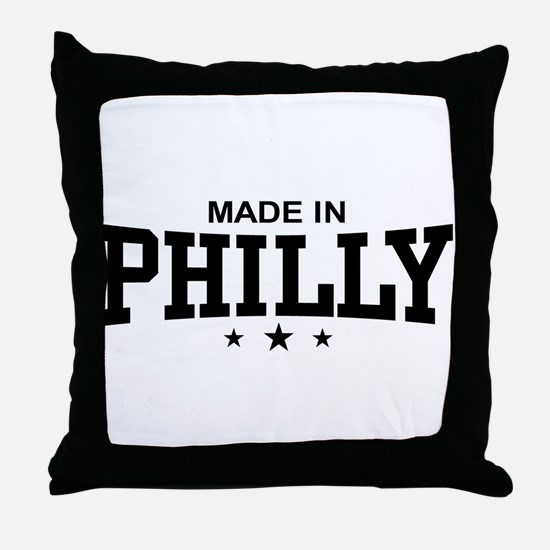 Made in Philly Throw Pillow