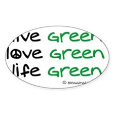 green.gif Bumper Stickers