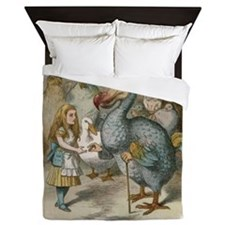 Alice and the Dodoworking Queen Duvet