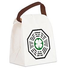 Dharma -green Canvas Lunch Bag