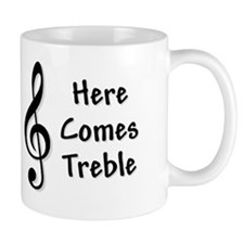 treblefor-black Mug