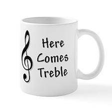 treblefor-black Small Mugs