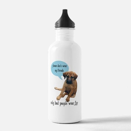 2-mattie fur 2 Water Bottle