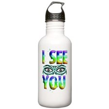 I SEE YOU 2 copy Water Bottle