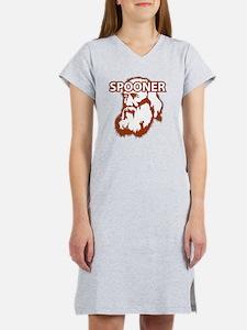 Spooner_front Women's Nightshirt
