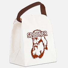 Spooner_front Canvas Lunch Bag