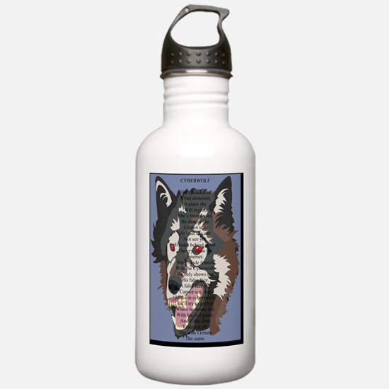 Cyberwolf 23x35 O.L. b Water Bottle