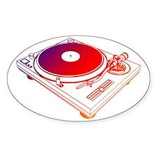 Vinyl Turntable 5 Decal