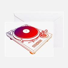 Vinyl Turntable 5 Greeting Card