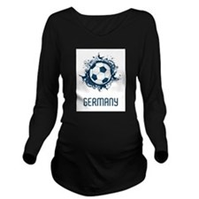 Germany Long Sleeve Maternity T-Shirt