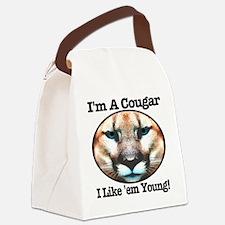 imacougar_ilikeemyoung Canvas Lunch Bag