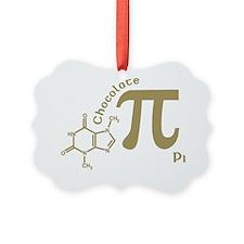chocolate_pi_shirt_light copy Ornament