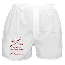 100%_organic_rd_10x10 Boxer Shorts