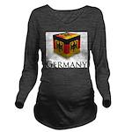 Cube Germany Long Sleeve Maternity T-Shirt