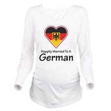 Happily Married German Long Sleeve Maternity T-Shi