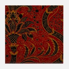 William Morris vintage design: India Tile Coaster