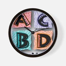 ACBDanimal2Final Wall Clock