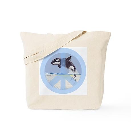 Orca Peace Tote Bag
