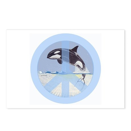 Orca Peace Postcards (Package of 8)