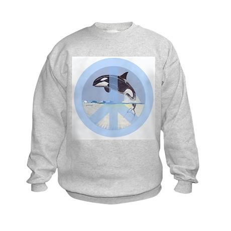 Orca Peace Kids Sweatshirt