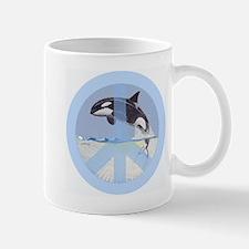 Orca Peace Mug