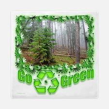 Go Green forest Queen Duvet