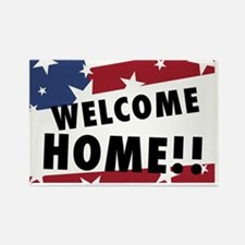 welcomehome Rectangle Magnet