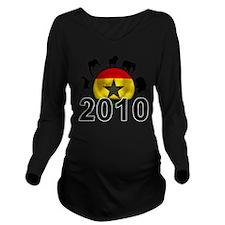 Ghana World Cup 2010 Long Sleeve Maternity T-Shirt