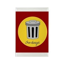 garbage Rectangle Magnet