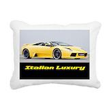 Lamborghini Rectangle Canvas Pillows