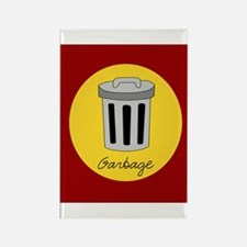 garbage Rectangle Magnet (100 pack)