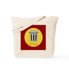 garbage Tote Bag