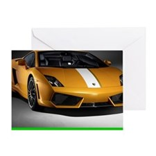 Lamborghini-Gallardo-Mousepad Greeting Card