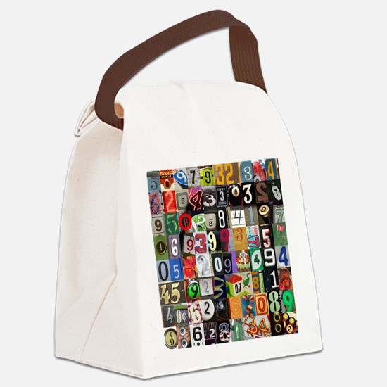 Places of Pi Canvas Lunch Bag