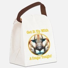 getitupwith_acougartonight_transp Canvas Lunch Bag
