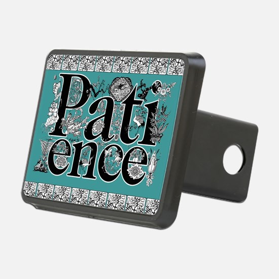 patience mousepad Hitch Cover