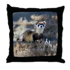 soft focus bff Throw Pillow
