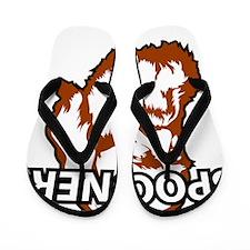 Spooner_whiteFront Flip Flops