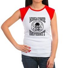 MISKATONIC Women's Cap Sleeve T-Shirt