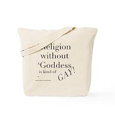 RelGayBlk Tote Bag