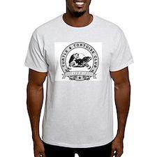 DFW Turtle & Tortoise Club Ash Grey T-Shirt