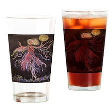 belle_10x10_dark Drinking Glass
