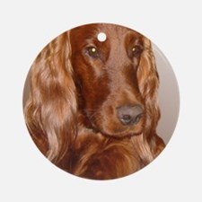 Irish Setter Round Ornament