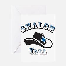 Shalom Yall Greeting Cards