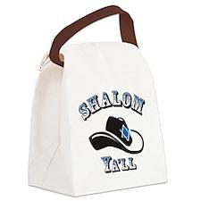 Shalom Yall Canvas Lunch Bag