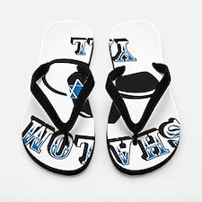Shalom Yall Flip Flops