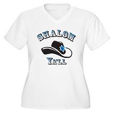 Shalom Yall Plus Size T-Shirt